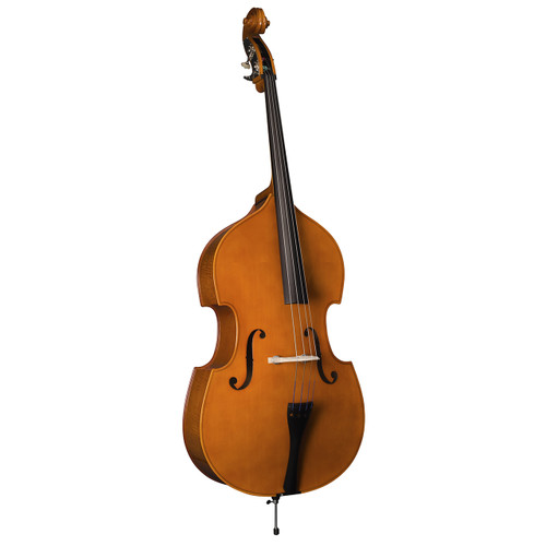 Glaesel Step-up Double Bass, 1/2 Size, Frence Bow