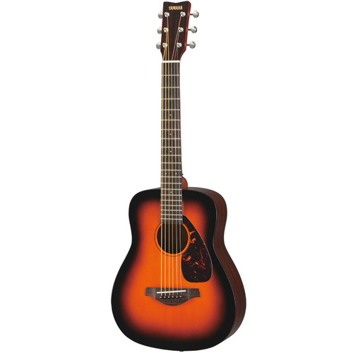 Yamaha JR2STBS 3/4 Scale Acoustic Guitar; Tobacco Sunburst