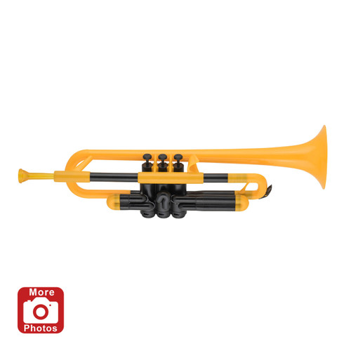 pTrumpet Plastic Trumpet Outfit, Yellow