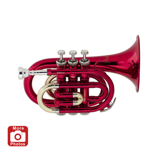 Prelude Student Model PT711R Pocket Trumpet