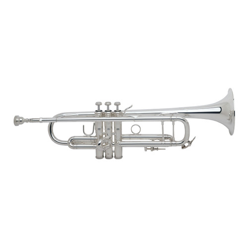 Bach Professional Model 180S43 Bb Trumpet, Silver Plated