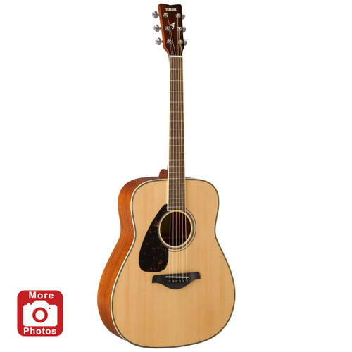 Yamaha FG820L Acoustic Guitar; Left-handed