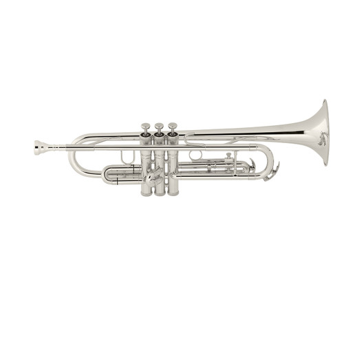 King Student Model 601SP Bb Trumpet, Silver Plated