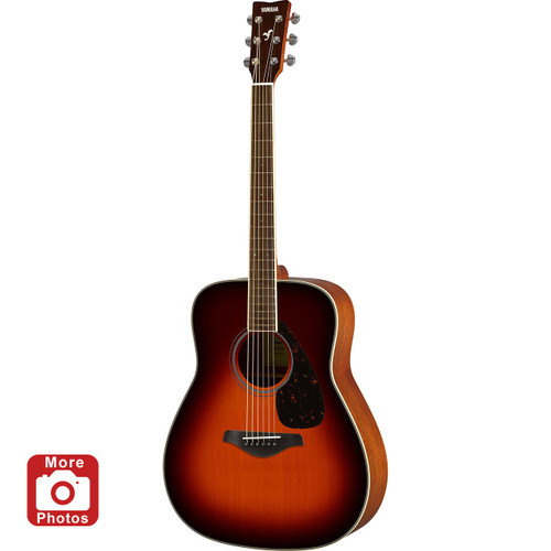 Yamaha FG820BS Acoustic Guitar; Brown Sunburst