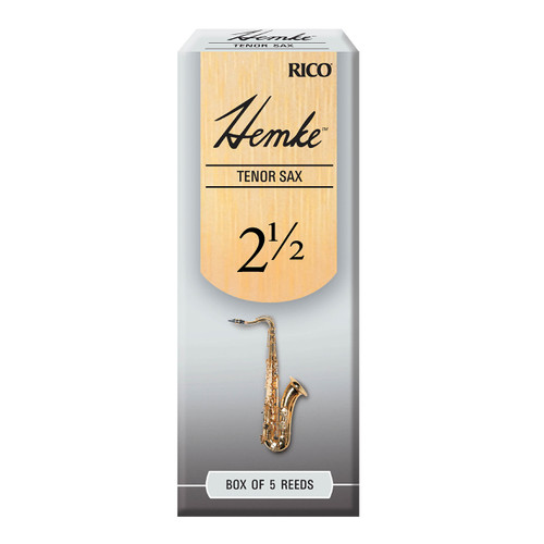 Hemke Tenor Sax Reeds, Strength 2.5, 5-pack