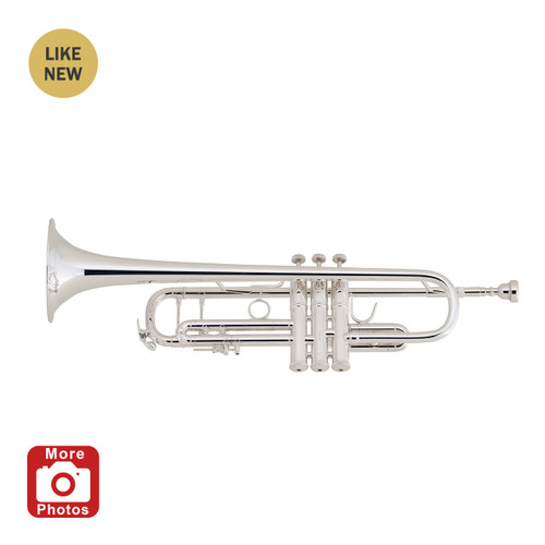 Bach Professional Model 180S37 Bb Trumpet, Silver Plated A Stock