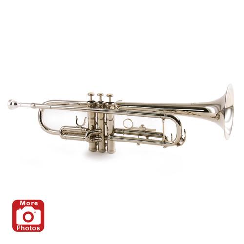 Conductor TR200NII Nickel Plated Student Trumpet - Series II
