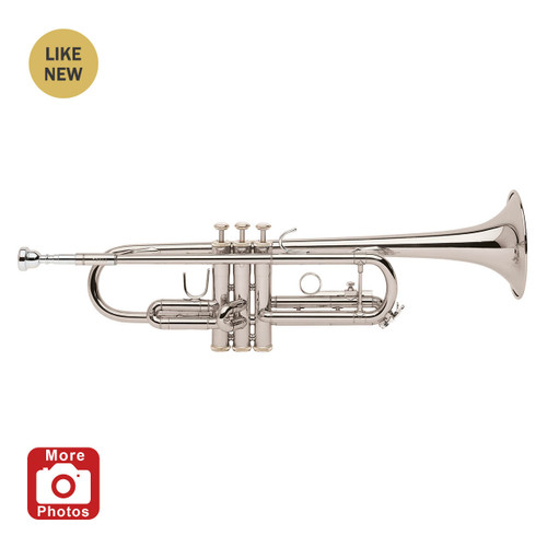 Bach Student Model TR300H2S Bb Trumpet, Silver Plated A Stock