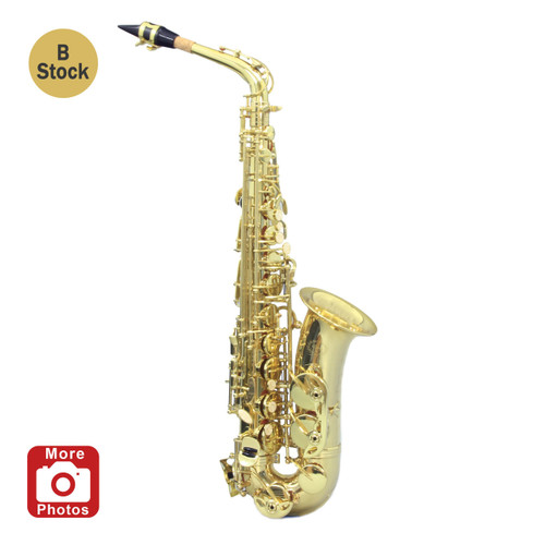Legacy AS750 Student Intermediate Alto Saxophone w/Case Refurbished B Stock