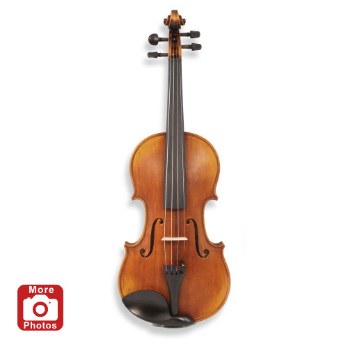 Legacy LVN-1000 Intermediate Violin, Deluxe Bow, Case, D'Addario Strings