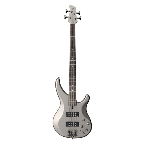 Yamaha TRBX304PWT Electric Bass; Pewter