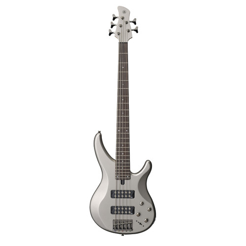 Yamaha TRBX305PWT Electric Bass; Pewter; 5-String