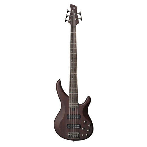 Yamaha TRBX505TBN Premium Electric Bass; Translucent Brown; 5-String