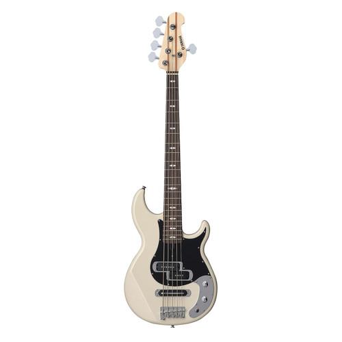Yamaha BB425XVW Electric Bass Guitar; Vintage White; 5-String