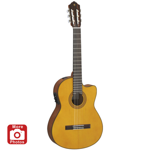 Yamaha CGX122MCC Acoustic-Electric Classical Guitar