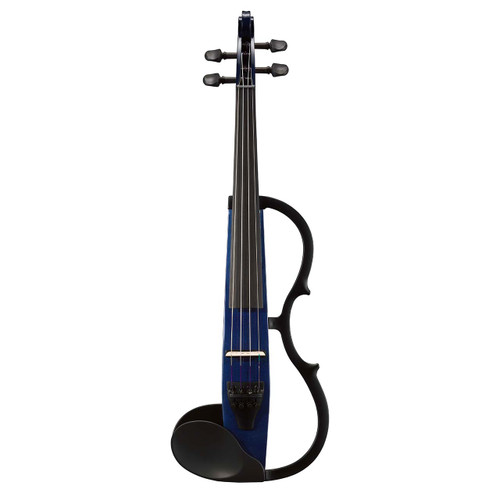 Yamaha SV-130NB Silent Violin; Full Size; Navy Blue; Instrument Only
