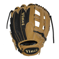 Vinci Pro Mesh Series BMB-OB Tan with Black Mesh Baseball Glove 13 inch