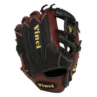 Vinci Pro Mesh Series JV26-M Bordeaux with Black Mesh and I-Web 11.75 inch