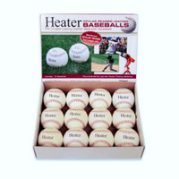 Heater Sports Fireballs Top Grain Leather Baseballs