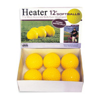 Heater 12 Inch Pitching Machine Softballs
