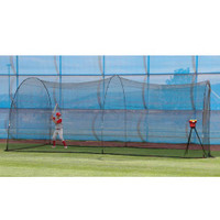 Crusher Pitching Machine & PowerAlley Batting Cage