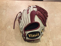 Custom Vinci 13.25 White with Bordeaux T Web