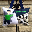 Personalized Boys Tooth Fairy Pillow - soccer