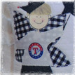 Personalized Boys Tooth Fairy Pillow - texas rangers boy baseball