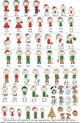 Custom Christmas Ornament People - Personalized per order