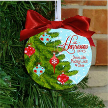 Christmas Ornament – Personalized Family Christmas Tree