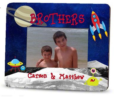 Picture Frame – Personalized brothers / outer space