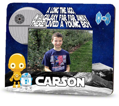 Picture Frame – Personalized boys / Star Wars