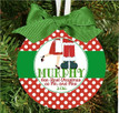 Christmas Ornament – Personalized Our First Christmas as Mr. and Mrs. Santa Claus