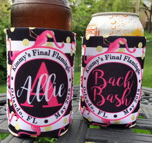 Koozies - Final Flamingle with outer circle - close up