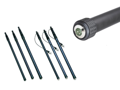 K-Tek KEG-150CC Avalon Graphite Coil Cabled Boompole (12 ft. 6 in.)