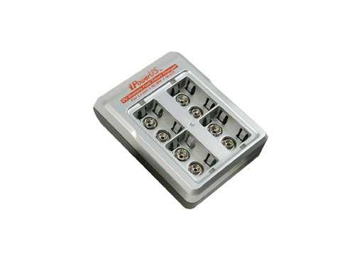 iPower FC-9VX44 9V Battery 4-Bay Charger