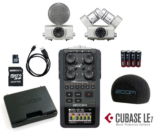 Zoom H6 6 Track Handy Recorder /Interchangeable Microphone System