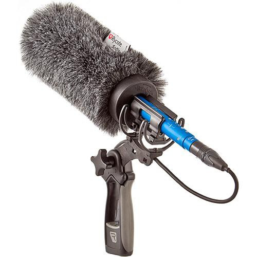 Rycote 18cm Standard Hole Softie W/ Lyre Mount Bundle