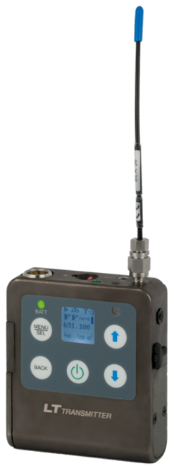 Lectrosonics LT L Series Wireless Microphone Transmitter C1 (614.400 - 691.175 MHz) MHz)