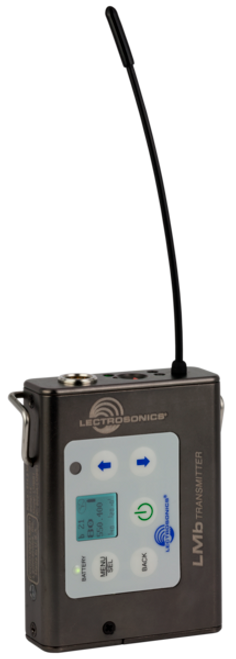 Lectrosonics LMb L Series Wireless Microphone Transmitter C1 (614.400 - 691.175 MHz)