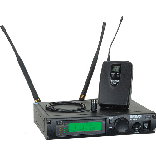 Shure ULX Diversity Professional Series - Wireless Lavalier Microphone System  Frequency J1 (554 - 590 MHz)