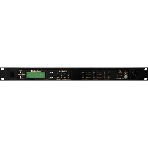 Telex BTR-700 Single-Channel UHF Base Station (A4F RTS)