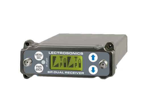 Lectrosonics SRC Wideband Dual Channel Slot Receiver C1 (614.400 - 691.175 MHz Blocks 24, 25 and 26)