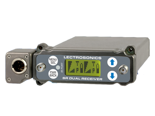 Lectrosonics SRC5P Wideband Dual Channel Slot Receiver B1 (537.600 - 614.375 MHz Blocks 21, 22 and 23)