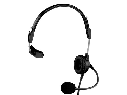 Telex PH-88E Single-Sided Headset W/ 4pin XLRF, 12' Coiled Cable (TELEX, CLEARCOM)