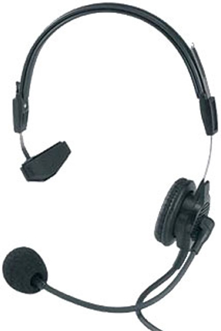 Telex PH88E-R Single-Sided Headset W/ 4 Pin XLRm, 12' Coiled Cable (RTS)