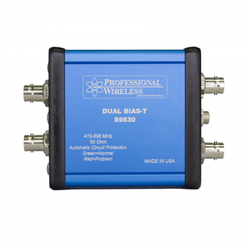 Professional Wireless Dual Bias-T with Power Supply