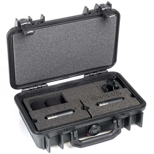 DPA d:dicate™ ST4015C STEREO PAIR WITH TWO 4015C, CLIPS AND WINDSCREENS IN PELI™ CASE