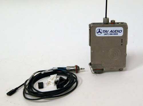 Used Lectrosonics MM400C Watertight Transmitter w/ Countryman EMW Lavalier - Block 25