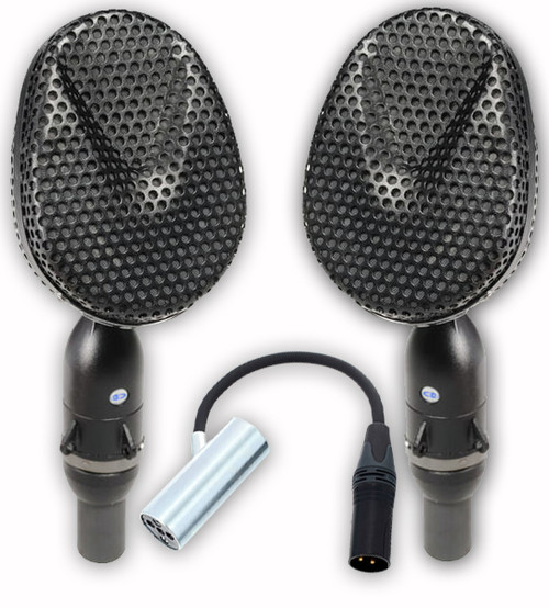Coles 4038 MP Studio Ribbon Microphone (Matched Pair) wit 4071B Mount